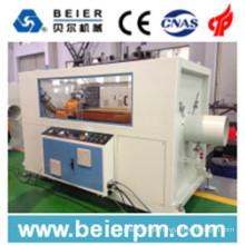 Linha de alta velocidade plástica da máquina da produção da extrusão da tubulação do PE / PP / PEAD / tubo da extrusão / extrusora