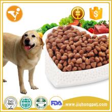 Собака угощает корм для домашних животных