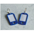 4,7 * 2,5 * 0,3 cm blue Key Chains