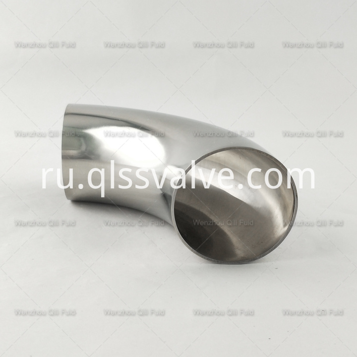 sanitary stainless steel 45degree elbow x5