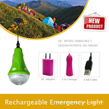 Super bright led Solar camping hiking Lamp & Phone charger