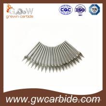 Rebabas rotativas del carburo de tungsteno de doble corte