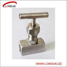 Sanitary Stainless Steel High Pressure Needle Valve