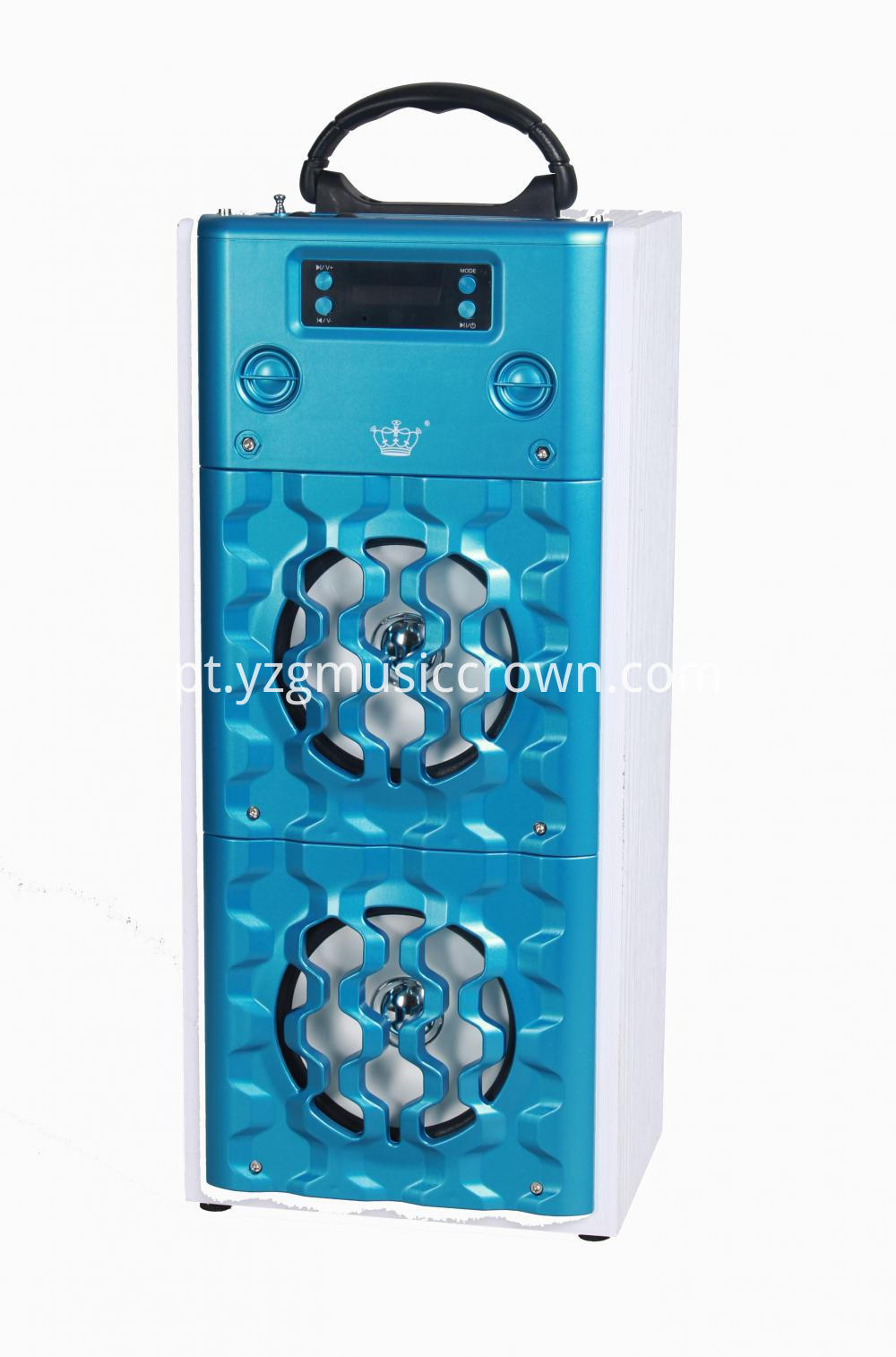 blue high power speaker