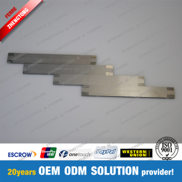 Tungsten Carbide Shear Cut Knife untuk Suction Drum