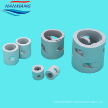25mm 38mm 50mm Ceramic random tower packing pall ring