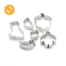 Alibaba best sellers christmas stocking color Cookie Cutter Set cake decorating tool for baking