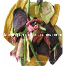Jetons de légumes mélangés à haute qualité