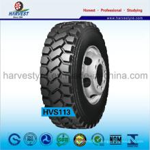 Spécial minier utilisant des pneus de camion tout en acier