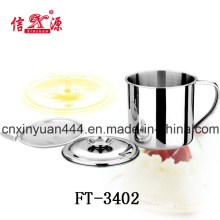 Stainless Steel Oil Mug (FT-3402)