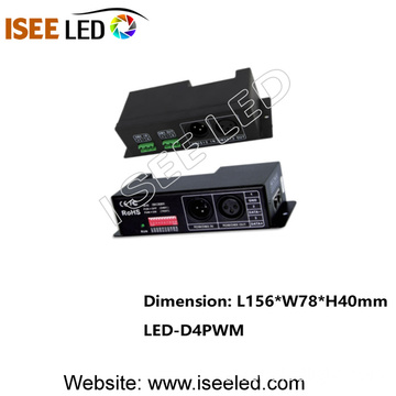 RGBW DMX LED Decoder 4channels 24A