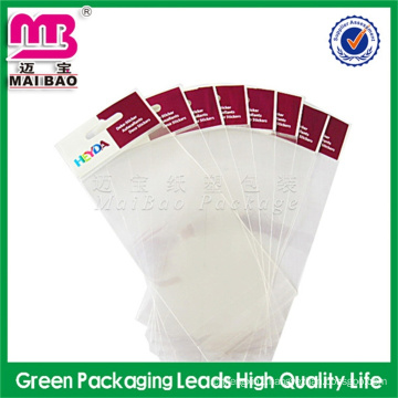 cheap raw material satin hair packaging