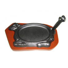 Animal Shape Cast Iron Sizzling Pan