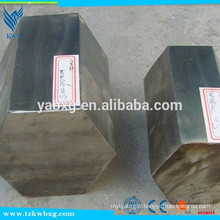 ASTM A582 recuit et poli 304L barre hexagonale en acier inoxydable