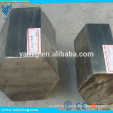 ASTM A582 annealed and polished 304L stainless steel hexagon bar
