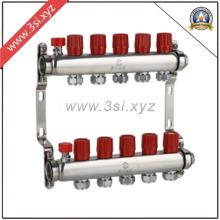 Сегрегатор воды с подогревом пола с манометром (YZF-M814)