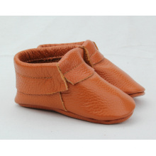 new arrival baby genuine leather soft sole short boots moccasin shoes