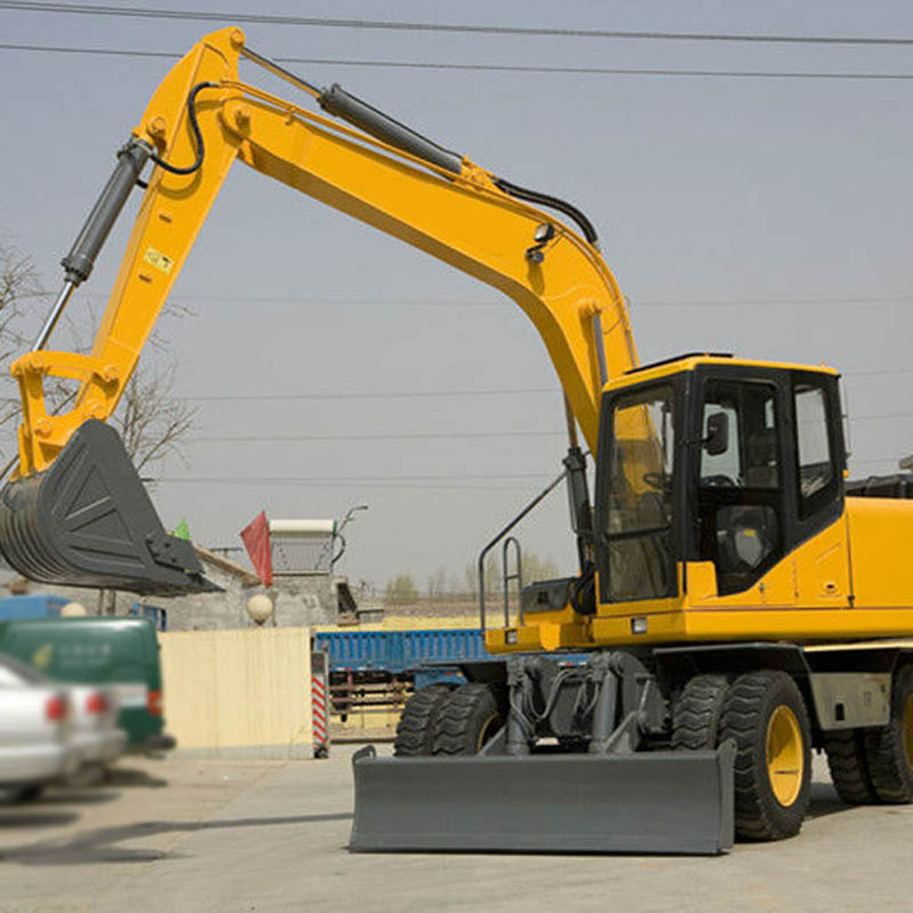 Bucket Wheeled Excavator