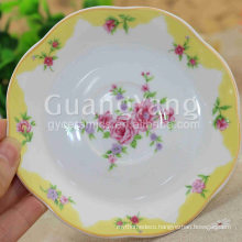 Factory Price Delicate Design Artwork Ceramic Bavaria Porcelain Dinner Set