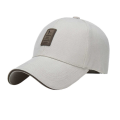 Leder Patch Cotton Twill Erwachsene Golf Cap
