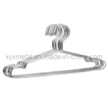 Pano de arame de aço inoxidável Terno de roupa Vestuário de metal Rack Rack de roupas