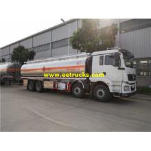SHACMAN 28.5cbm Gasoline Transport Tanker Trucks