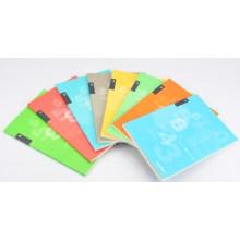 Cuaderno personalizado de escuela de tapa blanda impresa