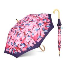 Лореаль сертифицированном заводе купить оптом подгоняйте Логос печати прямая деревянная ручка зонтик