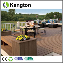 2014 New Wood Plastic Composite Flooring Outdoor WPC Decking (WPC decking)