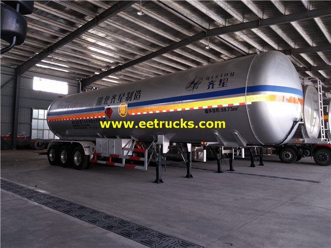 LPG Transport Semi-trailers