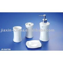 4 Stück Porzellan Badezimmer Set JX-SA708