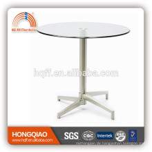 T-Y5 Glas Stahl Design Couchtisch