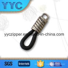 New Design Metal Zipper Pulls décoratifs pour vêtement
