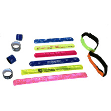 Customized Reflective Slap Band for Safety