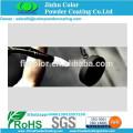 electrostatic spray polyester metallic black powder coating paint