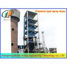 Torre de secagem por pulverização de álcool polivinílico