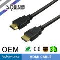 SIPU Gold connecteur 1.4version 4Kx2K hdmi cbale en gros audio vidéo câbles soutenir 3d meilleur ordinateur câble