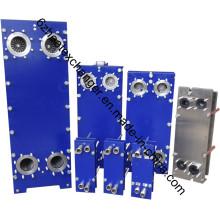 Intercambiador de calor de placas de China, fabricante de enfriadores de agua a aceite (S9)