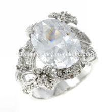 couronne en forme de dinde gros 925 bijoux en argent sterling anneaux