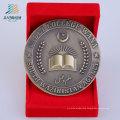 Custom Casting Antique Bronze Metal Challenge Coin for Souvenir Gift