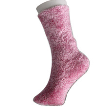 Feather Pink Floor socks