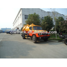 5CBM Dongfeng sewage suction truck, vacuum sewage suction truck, 4x2 sewage suction truck, 6000L sewage suction truck