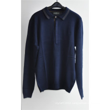 Long Sleeve Knit Pullover Sweater for Men