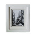 White PS Photo Frame in Multiple Open for Wall Decoration