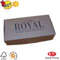 Дешевые коробки один кусок складной Kraft упаковывая