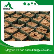 Haisan fornece estabilização de solo de polietileno de alta densidade Geocell