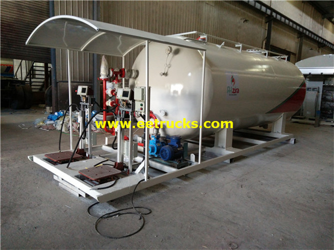 Mobile Propane Skid Plants