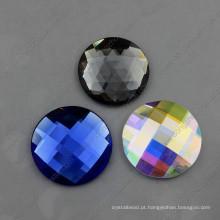 Fabricação de contas de vidro redondas decorativas coloridas extravagantes