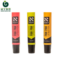 10g cosmetic plastic tube for lipstick packaging