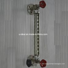 Dispositivos de medición de nivel-Medidor de nivel de vidrio